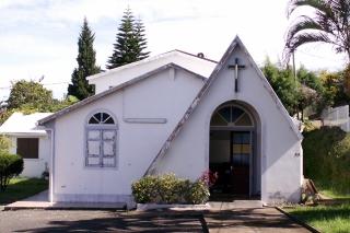 Église adventiste à Montvert Les Hauts La Réunion.