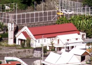 Église Palmiste Rouge Cilaos La Réunion.