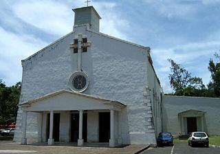 église Saint-François Xavier à La Rivière des Pluies