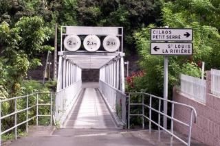 Passerelle Îlet Furcy La Réunion.