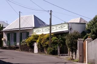 Maisons quartier des Jacques à Saint-Joseph La Réunion