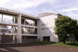Lycée de Bois d'Olive La Réunion.