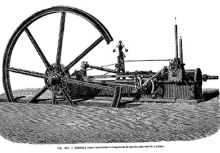 Machine à Vapeur pour la canne à sucre