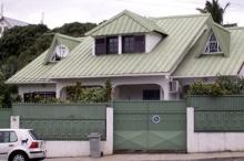 Maison quartier de Petite-île à Saint-Denis La Réunion.