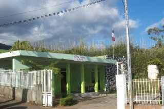 Le Plate mairie annexe Saint-Leu La Réunion.