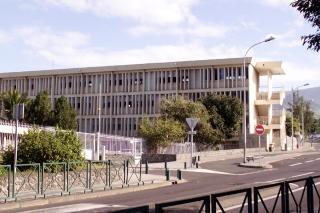 Lycée Antoine Roussin à Roches Maigres Saint-Louis La Réunion.