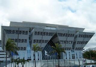 Hôtel de Région Saint-Denis La Réunion.