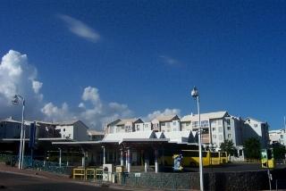 Gare routière de Saint-Pierre La Réunion.