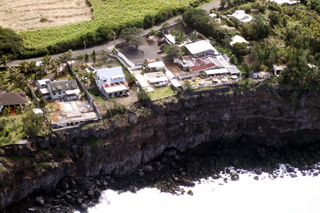 Falaise littoral de Terre Rouge La Réunion